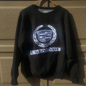 oversized escalade sweater